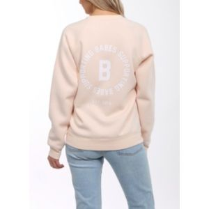NWT BRUNETTE THE LABEL / BABES CREW SWEATER